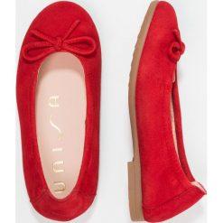 Baleriny damskie lakierowane: Unisa CRESY Baleriny red