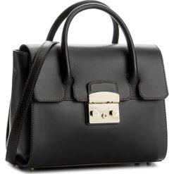 Torebka FURLA - Metropolis 912656 B BGX6 VFO Onyx. Czarne torebki klasyczne damskie Furla, ze skóry, duże. W wyprzedaży za 1129,00 zł.