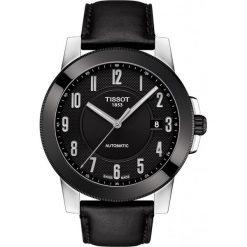 RABAT ZEGAREK TISSOT T-Sport T098.407.26.052.00. Czarne zegarki męskie TISSOT, ze stali. W wyprzedaży za 1408,00 zł.