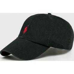 Polo Ralph Lauren - Czapka. Czarne czapki z daszkiem męskie Polo Ralph Lauren, z bawełny. Za 169,90 zł.