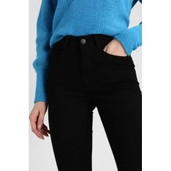 Jeansy damskie: Dorothy Perkins Tall HIGH WAISTED BAILEY  Jeans Skinny Fit black