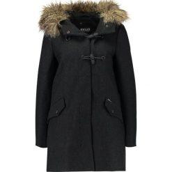 Płaszcze damskie pastelowe: khujo YUKI Krótki płaszcz dark grey melange