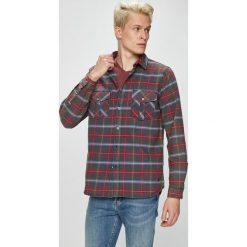 Mustang - Koszula. Szare koszule męskie na spinki Mustang, l, w kratkę, z bawełny, z klasycznym kołnierzykiem, z długim rękawem. W wyprzedaży za 179,90 zł.