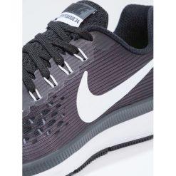 Nike Performance ZOOM PEGASUS 34  Obuwie do biegania treningowe black/white/dark grey/anthracite. Czarne buty sportowe chłopięce Nike Performance, z materiału. W wyprzedaży za 323,10 zł.