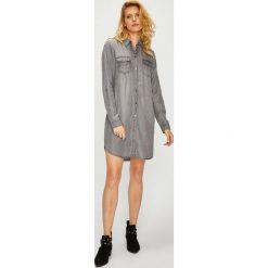 Vero Moda - Sukienka. Szare sukienki mini marki Vero Moda, na co dzień, m, z lyocellu, casualowe, proste. Za 169,90 zł.