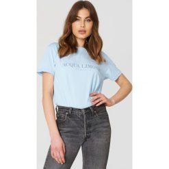 T-shirty męskie z nadrukiem: Acqua Limone T-shirt Classic – Blue