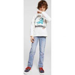 Mango Kids - Jeansy dziecięce 104-164 cm John. Niebieskie jeansy chłopięce marki House. W wyprzedaży za 49,90 zł.