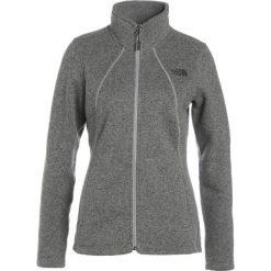 The North Face CRESCENT  Kurtka z polaru medium grey heather. Szare kurtki sportowe damskie marki The North Face, s, z materiału. W wyprzedaży za 227,40 zł.
