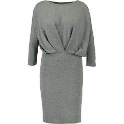 Sukienki hiszpanki: ICHI JOANNA Sukienka z dżerseju grey melange
