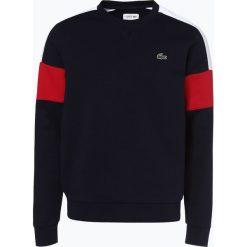 Lacoste - Męska bluza nierozpinana, niebieski. Szare bluzy męskie marki Lacoste, z bawełny. Za 449,95 zł.