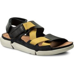 Sandały CLARKS - Trisand Sun 261333027 Blue. Niebieskie sandały męskie skórzane Clarks. W wyprzedaży za 239,00 zł.
