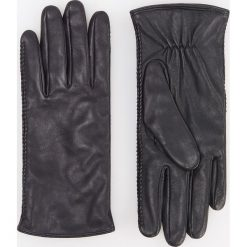 Skórzane rękawiczki - Czarny. Brązowe rękawiczki damskie marki Roeckl. Za 99,99 zł.