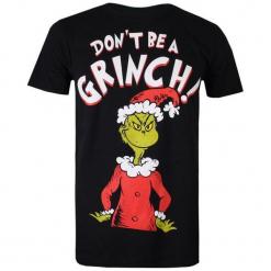 Christmas T-Shirt T-Shirt Męski Don't Be A Grinch L Czarny. Czarne t-shirty męskie z nadrukiem Christmas T-Shirt, l, z bawełny. Za 65,00 zł.
