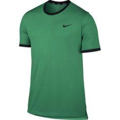 Nike Koszulka męska Court Dry Top Team M r. L zielona (830927-324). Zielone t-shirty męskie Nike, l. Za 140,00 zł.