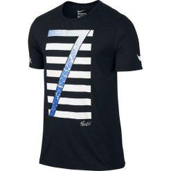 Nike Koszulka męska Ronaldo Logo Tee czarna r. XL (789414-010). Czarne koszulki sportowe męskie marki Nike, m. Za 75,48 zł.
