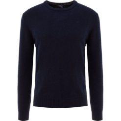 Hackett London Sweter dark navy. Niebieskie swetry klasyczne męskie Hackett London, m, z materiału. Za 569,00 zł.