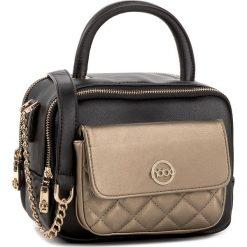 Torebka NOBO - NBAG-D2130-CM20 Czarny Ze Złotym. Czarne torebki klasyczne damskie marki Nobo, ze skóry ekologicznej. W wyprzedaży za 179,00 zł.
