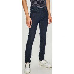 Lee - Jeansy Luke. Niebieskie jeansy męskie slim Lee, z bawełny. Za 299,90 zł.