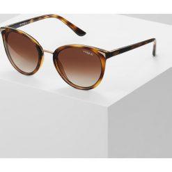 VOGUE Eyewear Okulary przeciwsłoneczne brown. Brązowe okulary przeciwsłoneczne damskie aviatory VOGUE Eyewear. Za 499,00 zł.