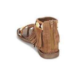 Sandały Metamorf'Ose  ZACCIN. Brązowe sandały damskie Metamorf'Ose. Za 247,20 zł.
