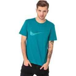 Nike Koszulka męska Hangtag Swoosh zielona r. XL (707456-467). Zielone koszulki sportowe męskie Nike, m. Za 59,99 zł.