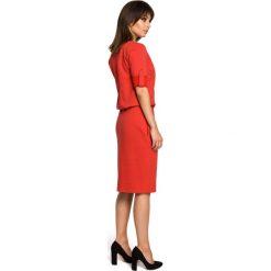 Sukienka sportowa podwijane rękawy bee-056. Szare sukienki balowe marki bonprix, melanż, z dresówki, z kapturem, z długim rękawem, maxi. Za 139,90 zł.