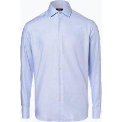 BOSS - Koszula męska – Gordon, niebieski. Czarne koszule męskie na spinki marki Boss, m. Za 399,95 zł.