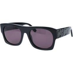 """Okulary przeciwsłoneczne damskie aviatory: Okulary przeciwsłoneczne """"0022/S 64H"""" w kolorze czarnym"""