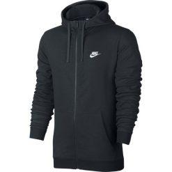 Bluza Nike NSW Hoodie Fz Club (804391-010). Czarne bluzy męskie Nike, m, z bawełny. Za 199,99 zł.