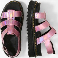 Buty: Dr. Martens YELENA Sandały na platformie mallow pink reflective metallic