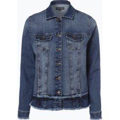 Kurtki i płaszcze damskie: Franco Callegari - Damska kurtka jeansowa, niebieski