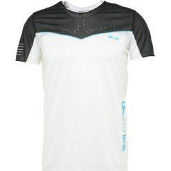 Salomon S LAB SENSE TEE  Tshirt z nadrukiem white. Białe t-shirty męskie z nadrukiem Salomon, m, z materiału. Za 389,00 zł.