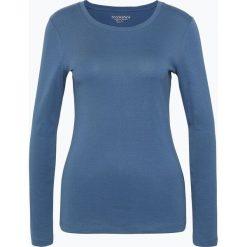 Brookshire - Damska koszulka z długim rękawem, niebieski. Niebieskie t-shirty damskie brookshire, m, z bawełny, z okrągłym kołnierzem. Za 69,95 zł.