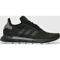 Adidas Originals - Buty Swif Run. Czarne buty sportowe damskie adidas Originals, z gumy. W wyprzedaży za 299,90 zł.