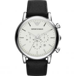 Zegarek EMPORIO ARMANI - Luigi AR1807 Black/Silver/Steel. Czarne zegarki męskie marki Emporio Armani. Za 1059,00 zł.
