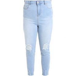 New Look Curves SUPER SOFT MADDIE Jeansy Slim Fit light blue. Niebieskie jeansy damskie relaxed fit New Look Curves. Za 149,00 zł.