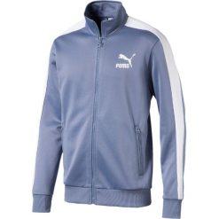 Bluza sportowa ze stójką. Czarne bluzy męskie rozpinane Puma, l, z bawełny, sportowe, ze stójką. Za 327,56 zł.