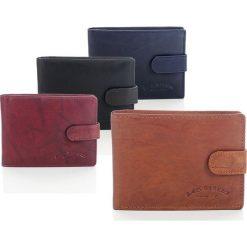 DARIEL Elegancki skórzany portfel męski Bag Street w pudełku. Brązowe portfele męskie Bag Street, ze skóry. Za 39,00 zł.