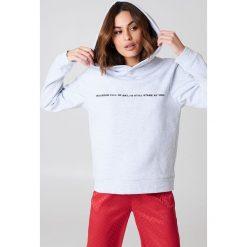 Bluzy rozpinane damskie: Rut&Circle Bluza z dużym kapturem Penny - Grey