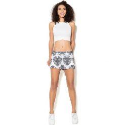 Colour Pleasure Spodnie damskie CP-020 273 biało-szare r. 3XL/4XL. Białe spodnie sportowe damskie marki Colour pleasure, xl. Za 72,34 zł.