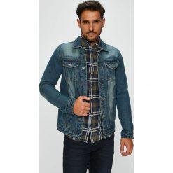 Brave Soul - Kurtka. Niebieskie kurtki męskie jeansowe marki Reserved, l. W wyprzedaży za 129,90 zł.
