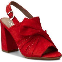Rzymianki damskie: Sandały ANN MEX – 8026 14W Czerwony