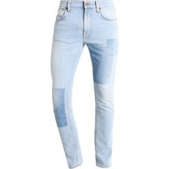 Spodnie męskie: Nudie Jeans LEAN DEAN Jeansy Slim fit indigo strip