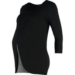Bluzki asymetryczne: Zalando Essentials Maternity Bluzka z długim rękawem black