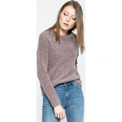 Jacqueline de Yong - Sweter Shine. Szare swetry klasyczne damskie Jacqueline de Yong, l. W wyprzedaży za 49,90 zł.