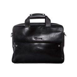 Torba VIP Collection Teczka na laptopa skóra naturalna. Czarne torby na laptopa marki VIP COLLECTION, ze skóry. Za 717,49 zł.