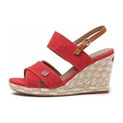 Wrangler Sandały Damskie Brava Cross 36 Czerwony. Czerwone sandały damskie Wrangler. W wyprzedaży za 158,00 zł.