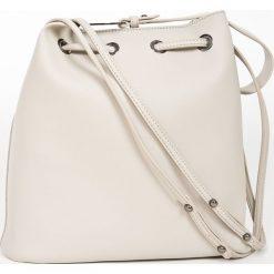 Monnari - Torebka. Szare torebki klasyczne damskie Monnari, w paski, z materiału, średnie. W wyprzedaży za 219,90 zł.