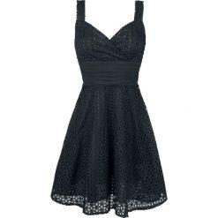 Voodoo Vixen Billie Blush Sukienka czarny. Czarne sukienki z falbanami Voodoo Vixen, m. Za 244,90 zł.