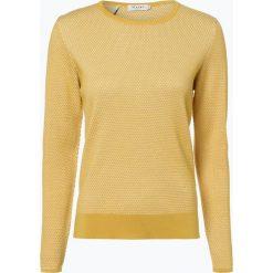 März - Sweter damski, żółty. Brązowe swetry klasyczne damskie marki Alma en Pena, z materiału, na obcasie. Za 499,95 zł.